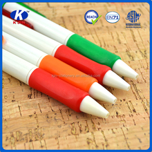 2015 hot sale promotional ball pen 14cm 2 color ball pen for school and office