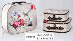 Delicate crown suitcase made in China
