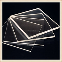 High transmittance Advertising Plexiglass sheets Clear Acrilico Sheet