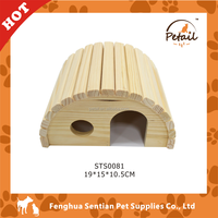 Pet Toy Pet house hamster wooden house wooden hamster cage