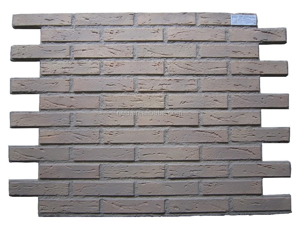 Pu Foam Brick Light Weight Faux Brick Wall Panel Decoration For Brand Store View Pu Foam