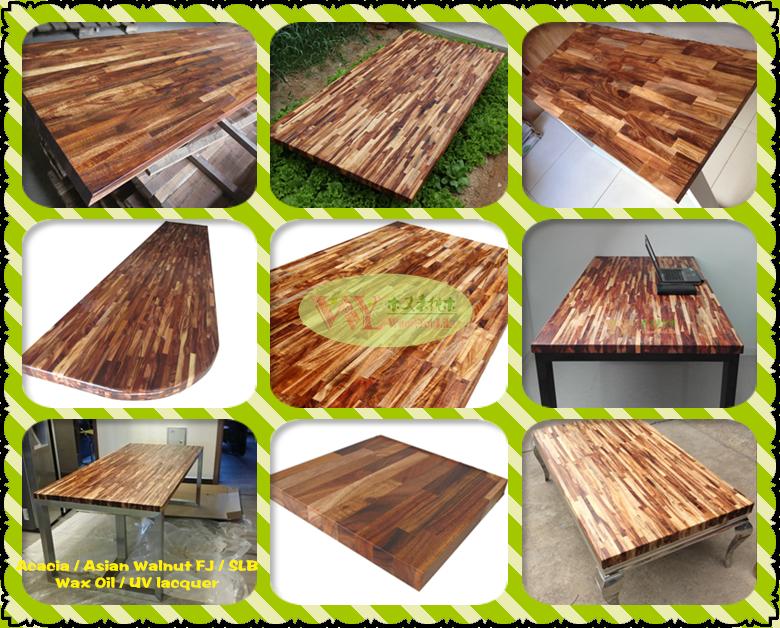 wholesale real wood kitchen worktops china acacia asian