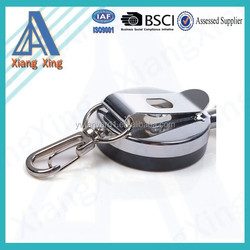 Extra Heavy Duty Steel Wire Badge Reel ID Card Pass Key Holder and Belt Clip