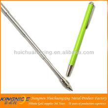2013 hot sale retractable small metal pen