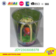 New item good selling plastic sound-controlled singing bird toy