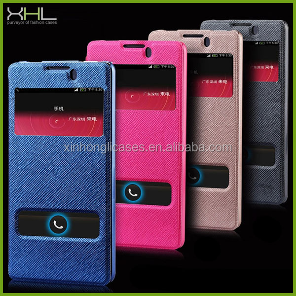 Wholesale cell phone case for Wiko ozzy, flip leather case for Wiko ozzy