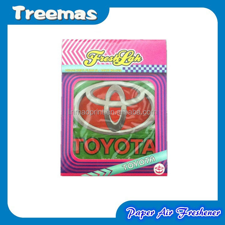 Cheapest and newly arrival custom paper car air freshener with good quality