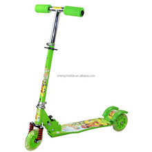 Kids toys 3 wheel kick scooter folding scooter mini scooter with lighted wheels