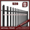 Good Quality Hot Dipped Galvanized decorative fences for garden For Prison