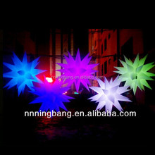 NB-ST2024 Ningbang Attractive Lighting Inflatable Star For Advertising
