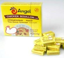 Angel Halal 10g, 4G cubos de caldo de pollo en polvo de caldo de pollo gallina