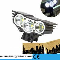 magic high bright 3LED mountain bike lamp set 4000Lumens LED waterproof road bike front light