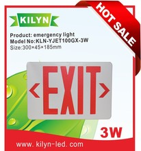Factory Direct Sales Channel emergency indicating sign board Led Emergency Exit Light