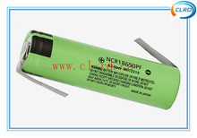 New NCR18650PF 3.7V 2900mah Battery With Tabs 18650 10A Discharge Li ion Batteries
