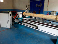 TJ2030 max diameter 300mm length 2000mm automatic cnc wood turning lathe