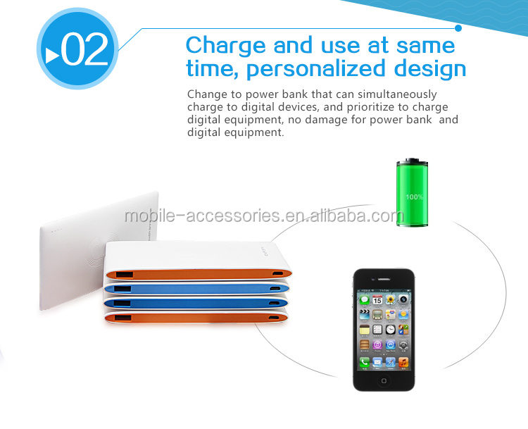 Sustyle high quality portable mobile power bank