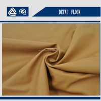 factory price 5% off 0.5mm waterproof types of jacket fabric material red pu leather fabric fom jiaxing