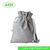 Jute Burlap Drawstring Gift bag wholesale with window Custom bag
