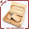 wedding gift bulk wood usb flash drive with box