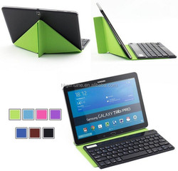 hotselling wireless bluetooth keyboard with detachable leather case