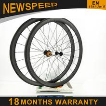 Superlight peso 1040 g de la bici del carbón wheelset de la bici ligera 38 mm de carbono 700c tubular de bicicleta de carretera