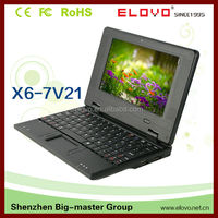 7inch laptop avant-guarde dual core Android 4.2 VIA8880 with HDMI factory price