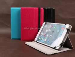 For ipad air 2 case shockproof case ,tablet cover high quality pu leather factory price