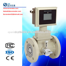 compensación de la presión de tipo natural de gas del medidor de flujo