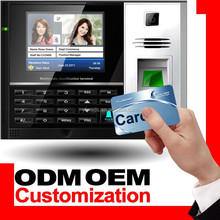 Fingerprint and Punch Card Time Attendance with Access Control