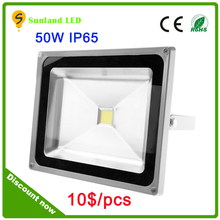 New arrival 50W LED Flood light innovation design ultra thin 110lm/w,ra>80 no glare cheapest led floodlight