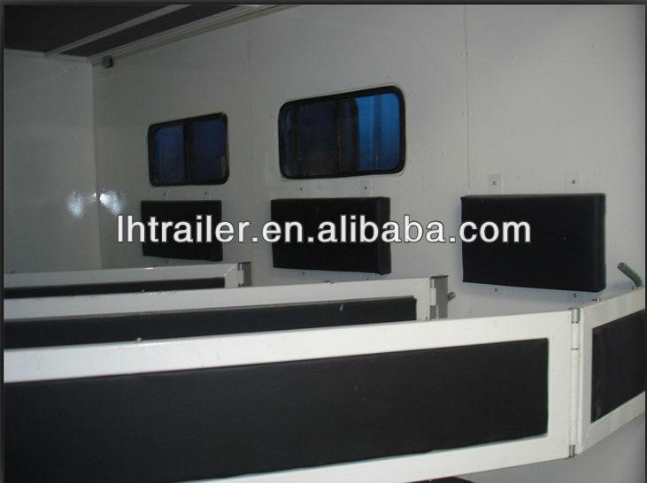 Aluminum 30 feet 3 horse gooseneck horse trailer for sale