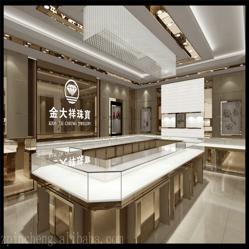 Modern jewelry shop interior design for sale optical for New interior design products