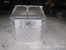 Customized aluminum tool box for truck