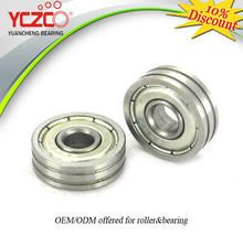 double groove outside ball bearing for window roller