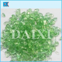 Decorative colorful glass chips in best price