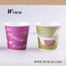 4oz hot drinking paper cup