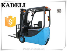 chinese new model 1.5 ton forklift mini electric forklift with Curtis AC control