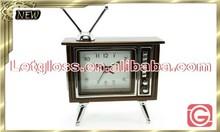 Authentic zinc alloy TV Alarm decorative Clock
