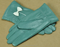 2015 the fashion Imports of sheep leather gloves