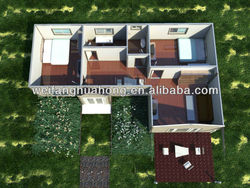2015 Hot Sell Foam Cement Board prefab timber home