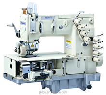 4-needle flat-bed double chain stitch sewing machine(metering device) PLS-1404PMD