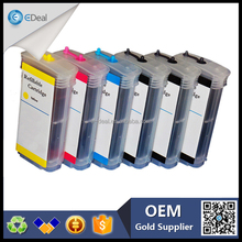 Alibaba stock refill ink cartridge for HP designjet Z5200 refillable ink cartridge