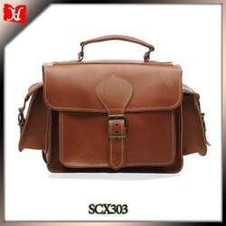 Photographers bag Real leather Camera bag made of excellent quality calfskin leather