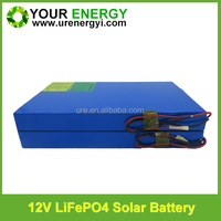 compact size and good discharging performance 12 volt lithium ion battery with cylindrical 26650 lifepo4 cell BMS