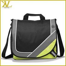 Quanzhou factory School Student briefcase shoulder messenger bag, polyester bag