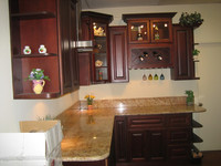 laminate modular kitchen cabinet color combinations