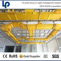 china suppliers ABS/PVC FV-0 plastic fiber runner duct system in data center