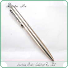 2015 silver plated pen chrome silver logo chrome classic chinese pen