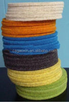 thick polyester fabric/PET needle nonwoven felt filter cloth