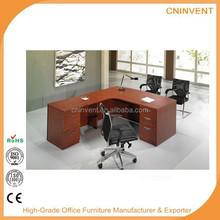L-Shape Office Desk with Side Return Desk